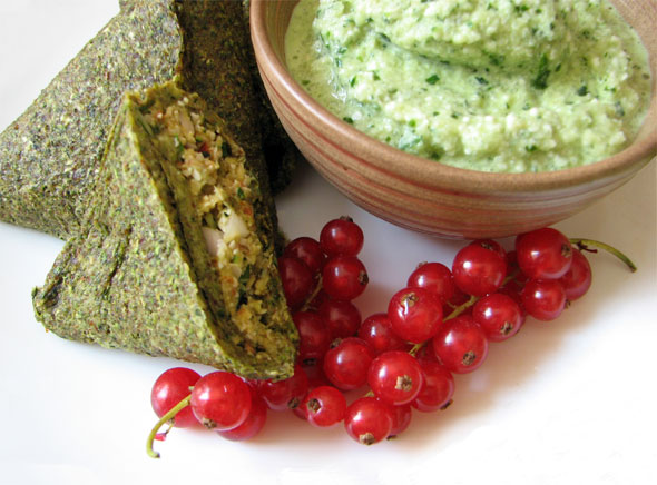 Samosas - zelenjavni zvitki