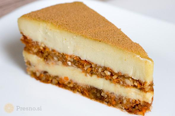 Kremna korenčkova torta