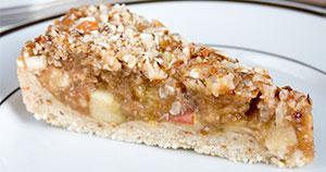 Hrustljava jabolčna pita