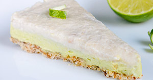 Limetina pita z avokadom