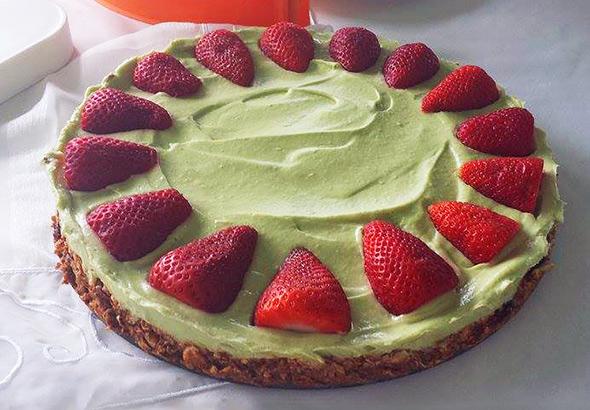 Avokadovo-limetina tortica