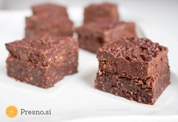 Čokoladni browniji s pomarančo