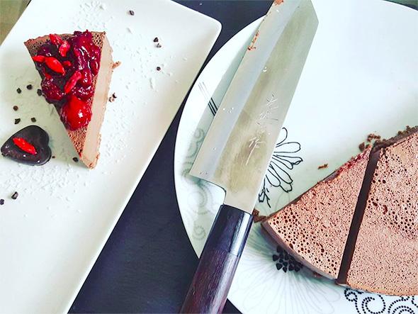 Lahka čokoladna torta