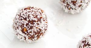 Enostavne čoko kokosove kroglice