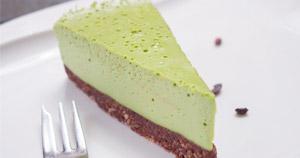 Matcha kokos cheesecake