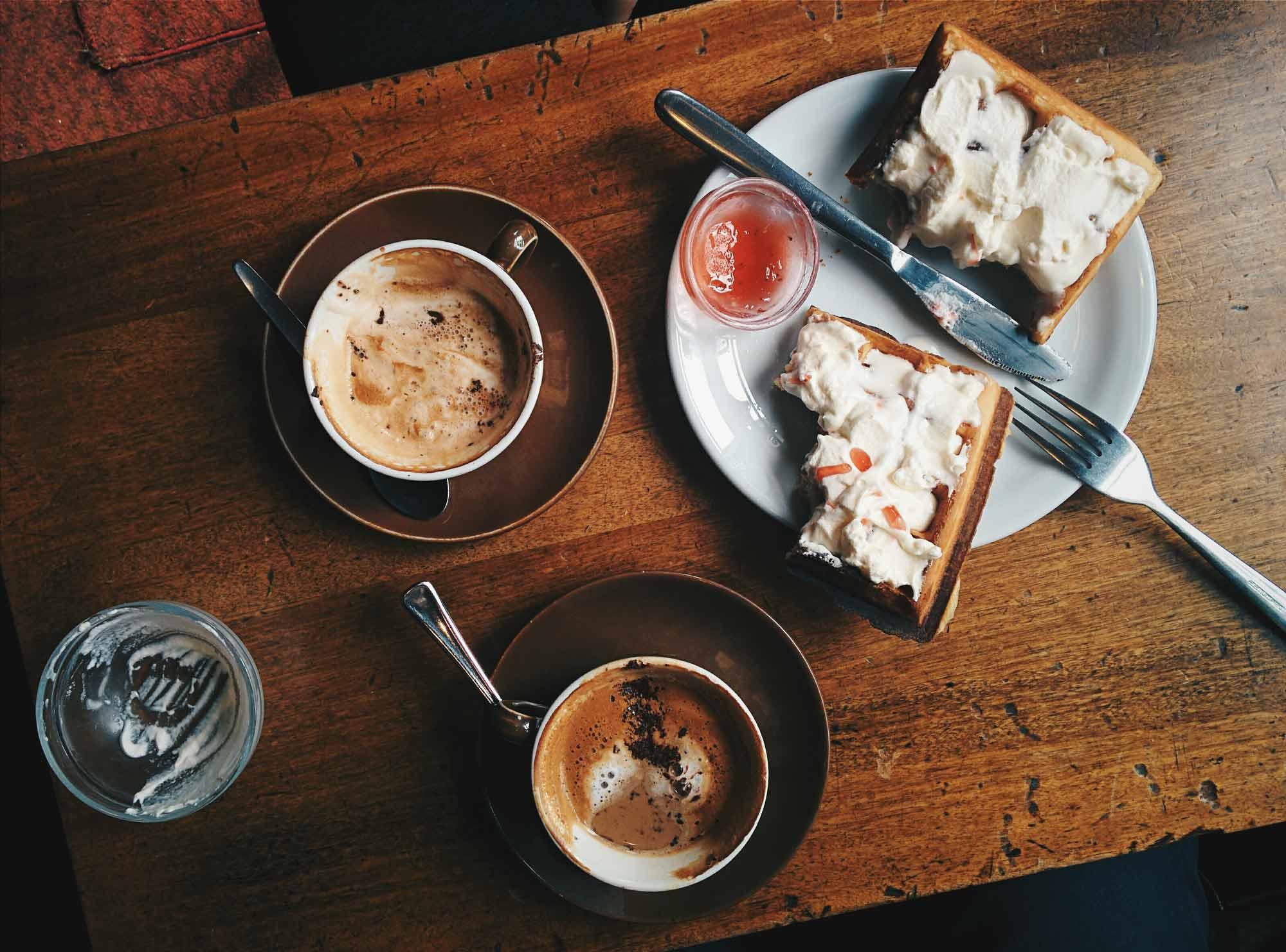 Zajtrk kava